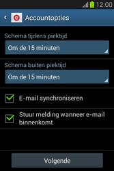 Samsung S6810P Galaxy Fame - E-mail - e-mail instellen: POP3 - Stap 14