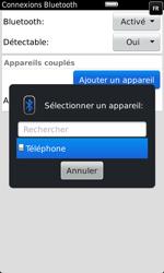 BlackBerry 9860 Torch - Bluetooth - Jumeler avec un appareil - Étape 9
