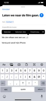 Apple iphone-11-model-a2221 - E-mail - Hoe te versturen - Stap 9