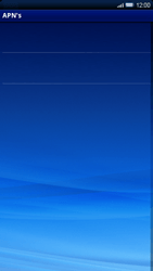 Sony Ericsson Xperia X10 - Internet - Handmatig instellen - Stap 6