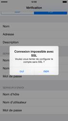 Apple iPhone 6 iOS 8 - E-mails - Ajouter ou modifier un compte e-mail - Étape 15
