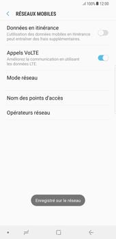 Samsung Galaxy S8 Plus - Android Oreo - Réseau - utilisation à l'étranger - Étape 14