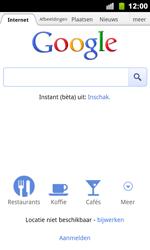 Google Nexus S - Internet - Hoe te internetten - Stap 4