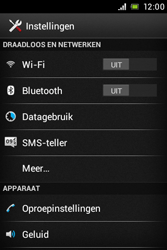 Sony C1505 Xperia E - WiFi en Bluetooth - Bluetooth koppelen - Stap 4