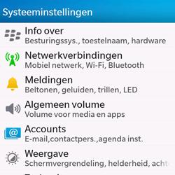BlackBerry Q10 - Buitenland - Bellen, sms en internet - Stap 5