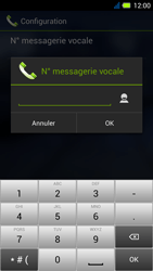 Acer Liquid E3 - Messagerie vocale - Configuration manuelle - Étape 9