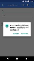 Sony Xperia XZ Premium - Android Oreo - E-mail - envoyer un e-mail - Étape 4
