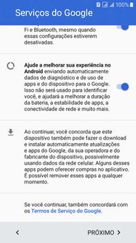 Samsung Galaxy On 7 - Primeiros passos - Como ativar seu aparelho - Etapa 12