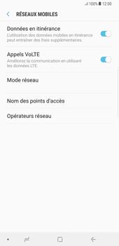 Samsung Galaxy S8 Plus - Android Oreo - Internet - Désactiver du roaming de données - Étape 6