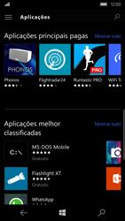Microsoft Lumia 550 - Aplicações - Como pesquisar e instalar aplicações -  8