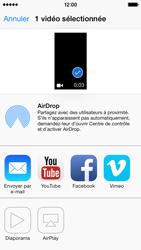 Apple iPhone 5s - Photos, vidéos, musique - Créer une vidéo - Étape 9