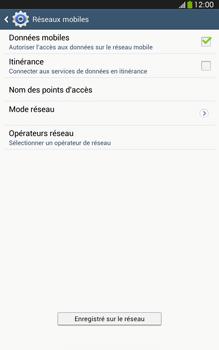 Samsung T315 Galaxy Tab 3 8-0 LTE - Réseau - utilisation à l'étranger - Étape 13