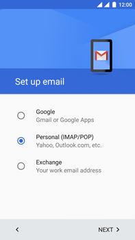 OnePlus 3 - E-mail - Manual configuration - Step 9