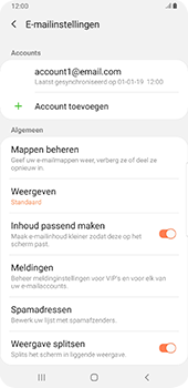 Samsung galaxy-s9-plus-sm-g965f-android-pie - E-mail - Instellingen KPNMail controleren - Stap 8