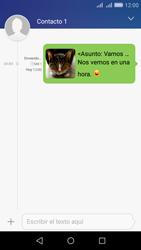 Huawei Huawei Y6 - Mensajería - Escribir y enviar un mensaje multimedia - Paso 20