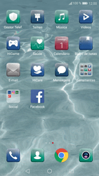Huawei P10 - SMS - Como configurar o centro de mensagens -  3