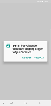 Samsung galaxy-s8-plus-g955-android-oreo - E-mail - Account instellen (POP3 zonder SMTP-verificatie) - Stap 5