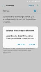 Samsung Galaxy S7 - Android Nougat - Bluetooth - Conectar dispositivos a través de Bluetooth - Paso 8