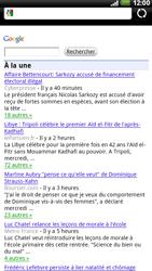 HTC X515m EVO 3D - Internet - Navigation sur Internet - Étape 7