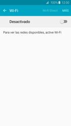 Samsung Galaxy S6 - WiFi - Conectarse a una red WiFi - Paso 5