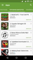 Motorola Moto G (2ª Geração) - Aplicativos - Como baixar aplicativos - Etapa 11