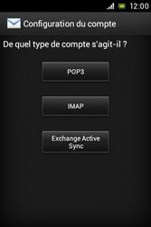 Sony ST21i Xperia Tipo - E-mail - Configuration manuelle - Étape 6