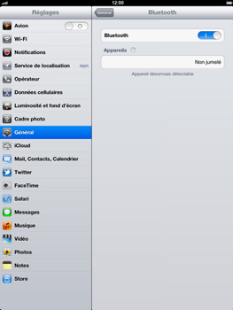 Apple iPad 4th generation - Bluetooth - connexion Bluetooth - Étape 9