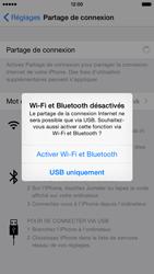 Apple iPhone 6 iOS 8 - Internet et connexion - Utiliser le mode modem par USB - Étape 7