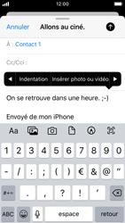 Apple iPhone SE - iOS 13 - E-mail - envoyer un e-mail - Étape 9