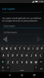 HTC One M8 - Applicaties - Account aanmaken - Stap 5