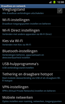 Samsung N7000 Galaxy Note - MMS - handmatig instellen - Stap 5