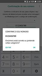 Samsung Galaxy J5 (2016) DualSim (J510) - Aplicações - Como configurar o WhatsApp -  8