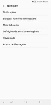 Samsung Galaxy A6 Plus DualSim - SMS - Como configurar o centro de mensagens -  6