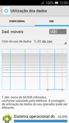 Alcatel Pixi 3 - Internet no telemóvel - Como ativar os dados móveis -  6