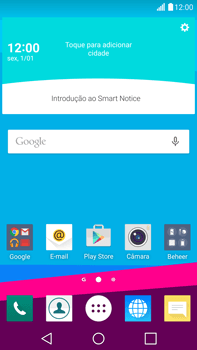 LG G4 - Aplicações - Como configurar o WhatsApp -  1