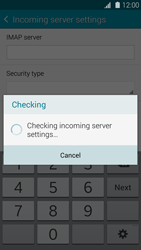Samsung Galaxy S5 mini - Email - Manual configuration - Step 11