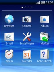 Sony Ericsson Xperia X10 Mini - Internet - Hoe te internetten - Stap 2