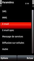 Nokia 5800 Xpress Music - E-mail - Configuration manuelle - Étape 5