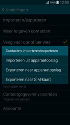 Samsung Galaxy Alpha 4G (SM-G850F) - Contacten en data - Contacten kopiëren van toestel naar SIM - Stap 8