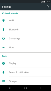 Motorola Nexus 6 - Internet - Manual configuration - Step 4