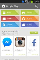 Samsung S6293T Galaxy Young Plus - Aplicativos - Como baixar aplicativos - Etapa 4