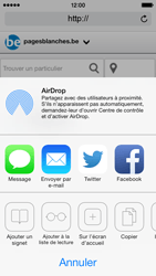 Apple iPhone 5c - Internet - Navigation sur Internet - Étape 13