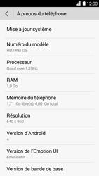 Huawei Ascend G6 - Réseau - Installation de mises à jour - Étape 6