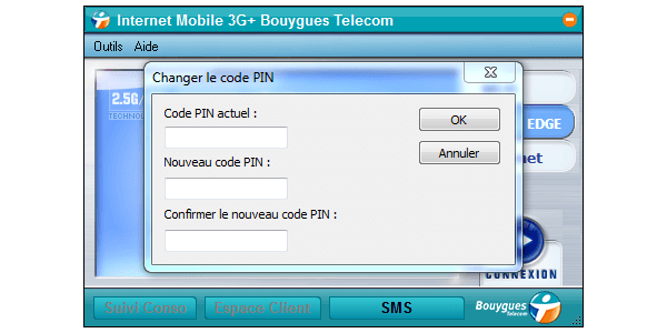 ZTE MF626 - Sécuriser votre mobile - Personnaliser le code PIN - Étape 6