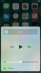 Apple iPhone 6 iOS 10 - iOS features - Control Centre - Step 9