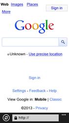 Samsung I8750 Ativ S - Internet - Internet browsing - Step 5