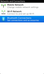 BlackBerry 9860 Torch - Bluetooth - Pair with another device - Step 5
