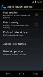 Acer Liquid E600 - Internet - Usage across the border - Step 7