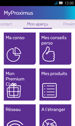 Huawei Y3 - Applications - MyProximus - Étape 14