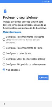 Samsung Galaxy Note9 - Primeiros passos - Como ligar o telemóvel pela primeira vez -  13